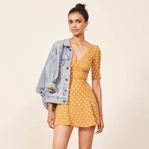 reformation marylou dress nwt